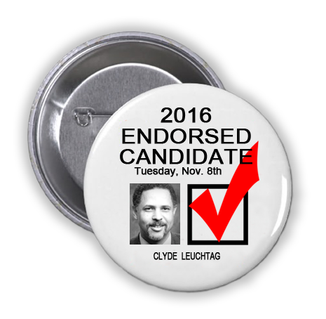 RACE FOR JUDGE, COUNTY CIVIL COURT AT LAW NO. 1 -- Clyde Leuchtag