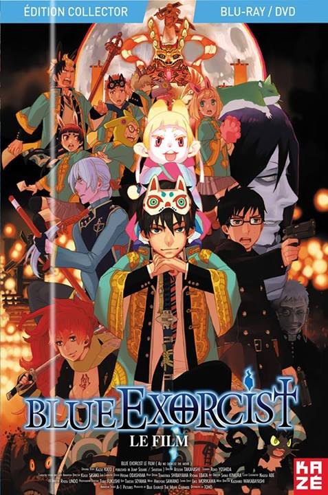 Blue Exorcist the Movie, Kazé Anime, Japanime, Actu Japanime,