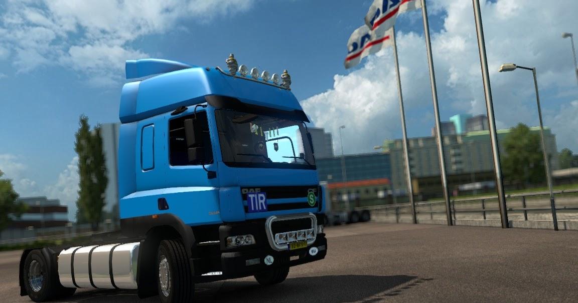 Daf cf 85 V1 1 Euro Truck Simulator 2