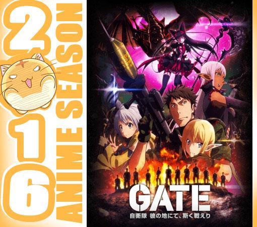 Gate: Jieitai Kanochi nite, Kaku Tatakaeri - Enryuu-hen Wallpaper Screenshot Preview Cover