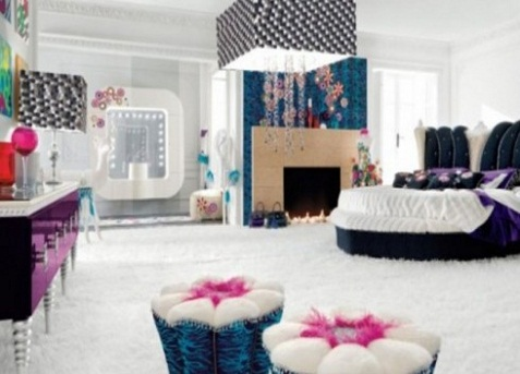 luxury bedroom designs and decors for teenage girls