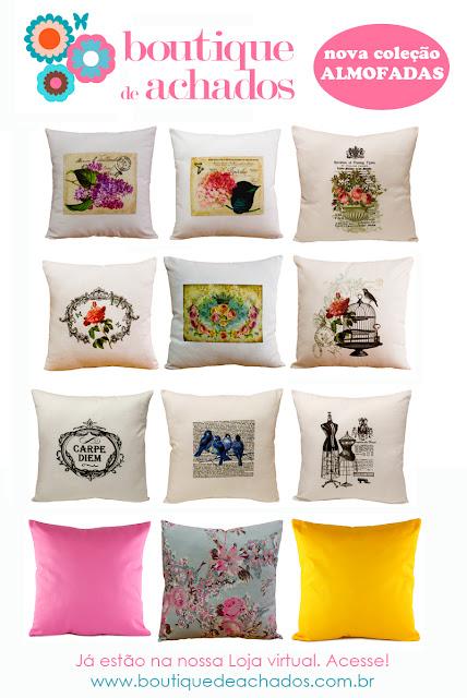 almofada vintage, almofada turquesa, almofada romântica, almofada pássaro