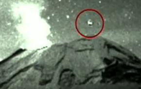 Νέο βίντεο του ufo πάνω από το ηφαίστειο