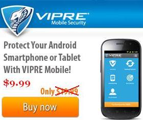 VIPRE Mobile Security Discount