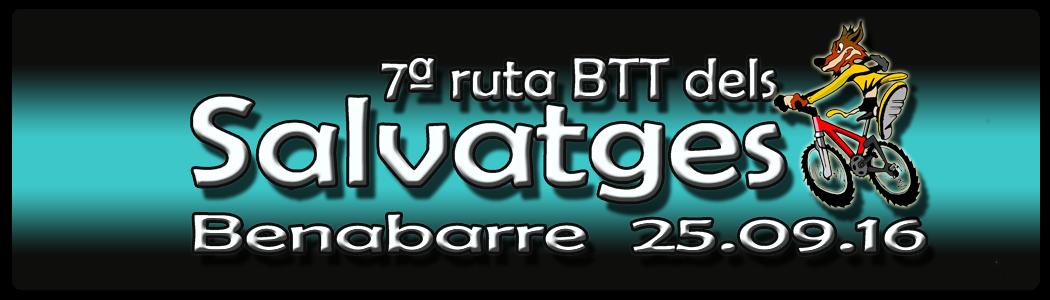 """Marcha BTT """"Ruta dels Salvatges"""""""