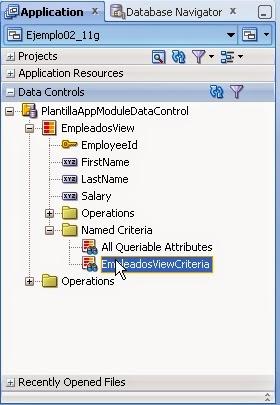 ViewCriteria en DataControls