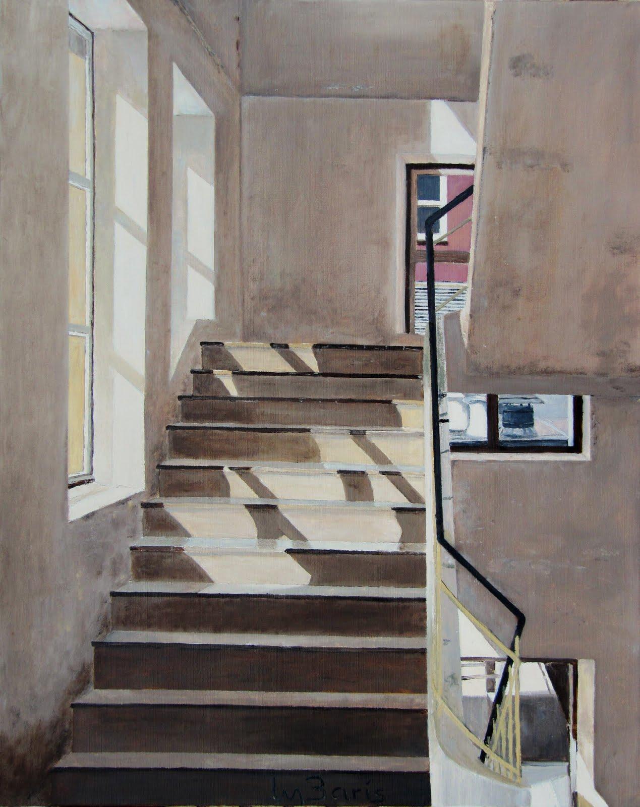 De blog van max baris ik liep laatst in een trappenhuis - Vervoeren van een trappenhuis ...
