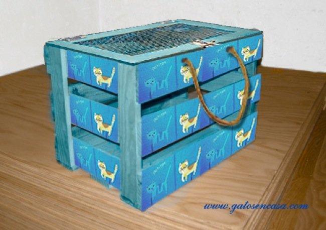Tu fruteria recicladecoraci n cinco usos para cajas de - Caja de frutas de madera ...