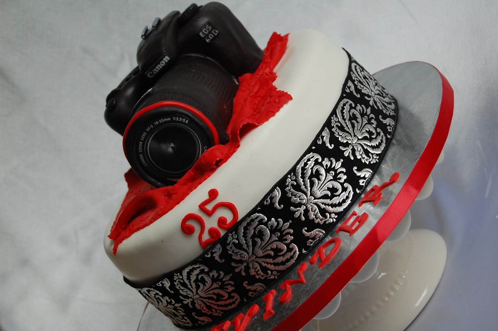 Camera Images For Cake : CUSTOMISED CAKES BY JEN: 3D Canon Camera Cake