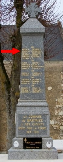Creully En Normandie Creully Guerre De 14 18