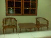 Beranda Kamar Hotel Parahyangan