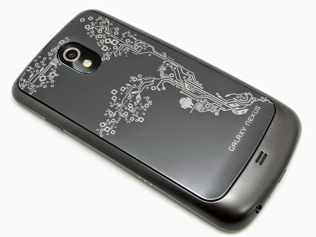 Docomo / Samsung Galaxy Nexus SC-04D with LE back lid