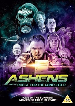 Poster Ashens and the Quest for the Gamechild - 2014