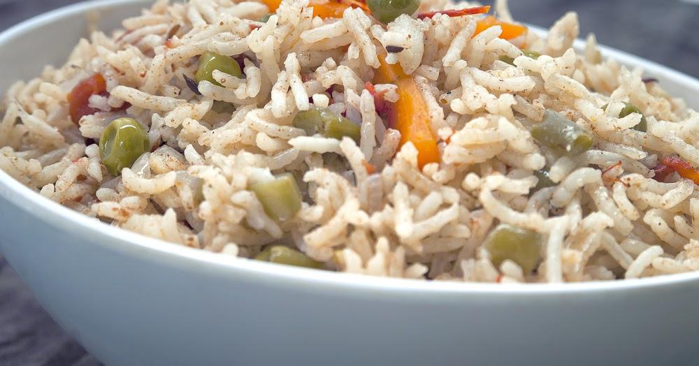 Gujarati Home Cooking: Quick Veg Pulao (Pilaf)