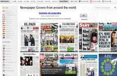 Portadas de diarios de todo el mundo online: Covertimes
