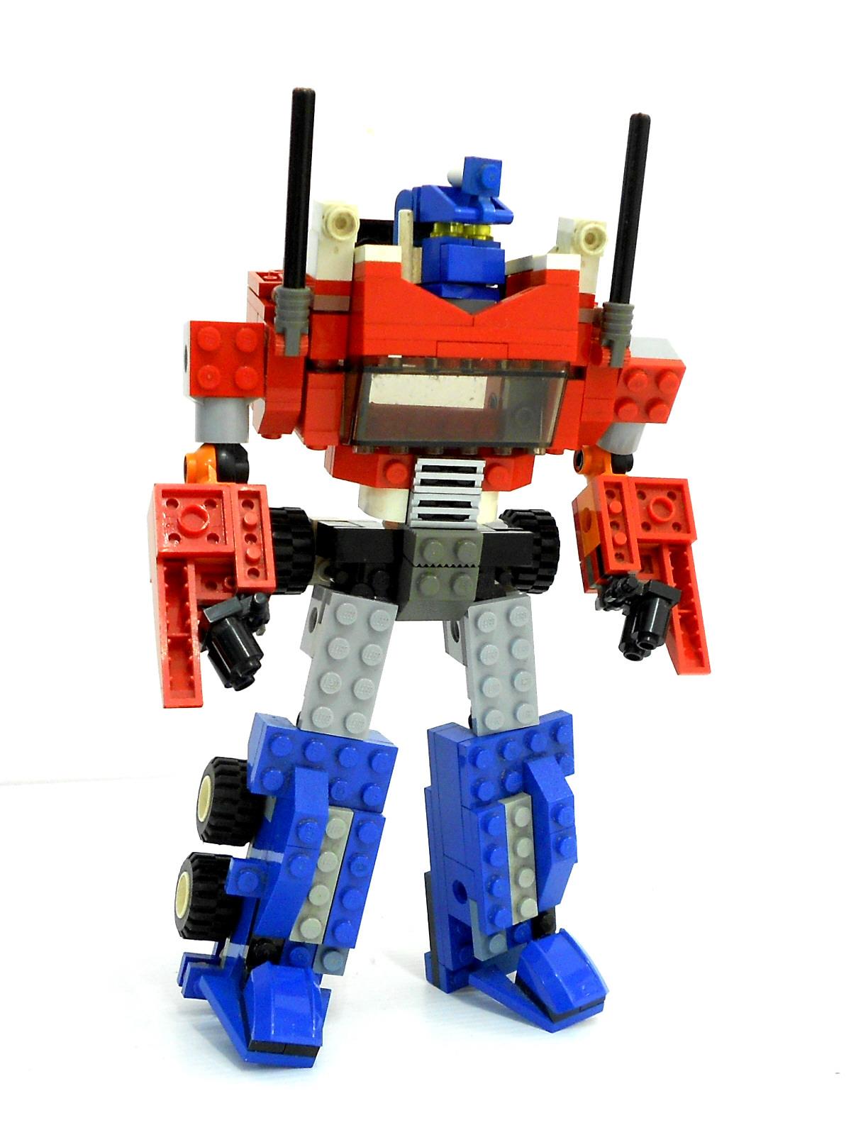 Гоночная машина - автобот » Робот из lego nxt 2.0 63