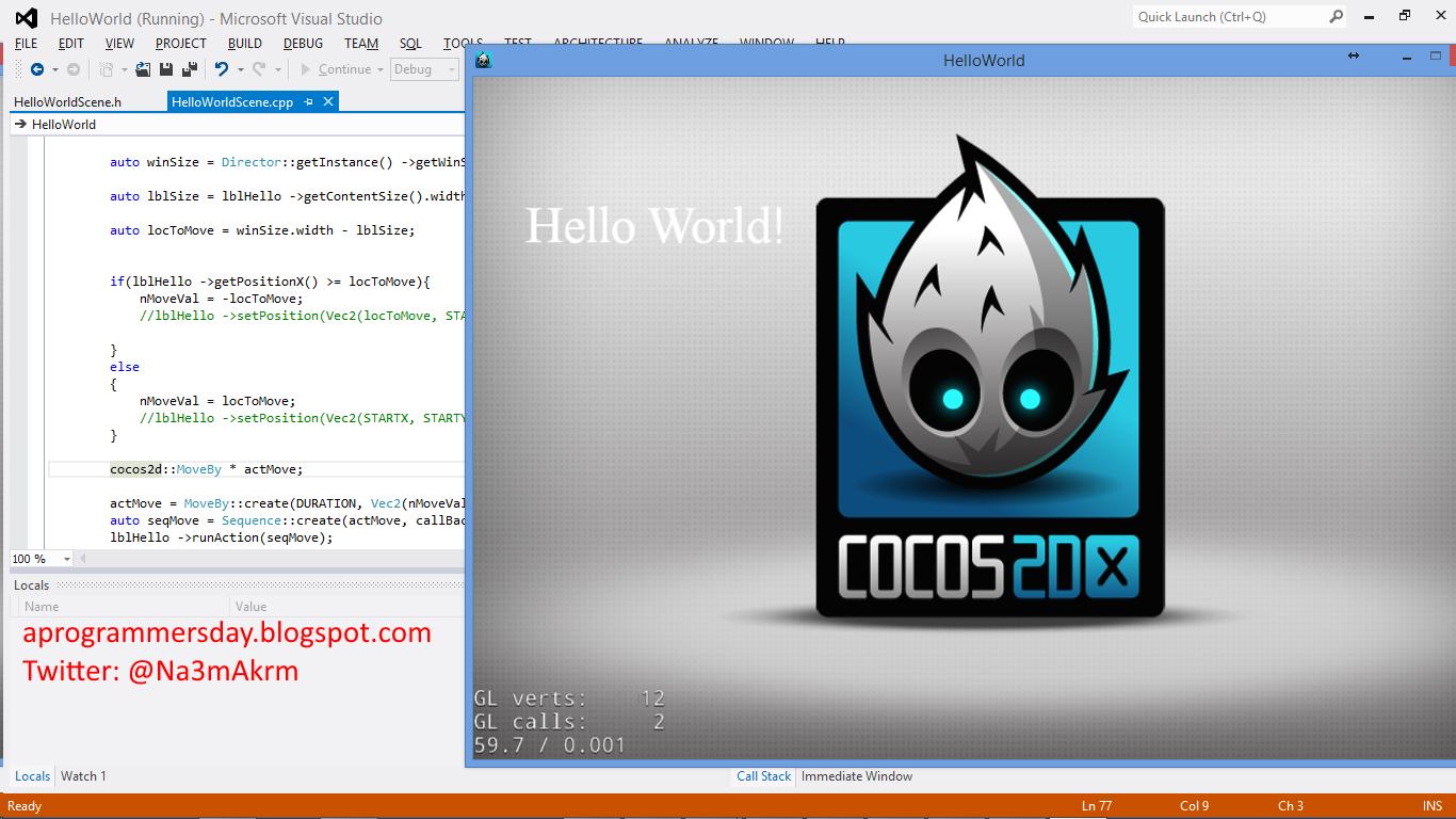 cocos-2dx-code-running-screenshot