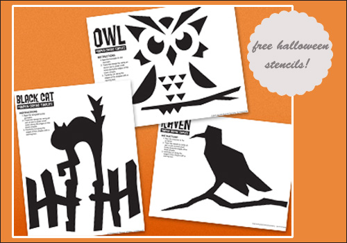 my owl barn free halloween pumpkin carving owl templates