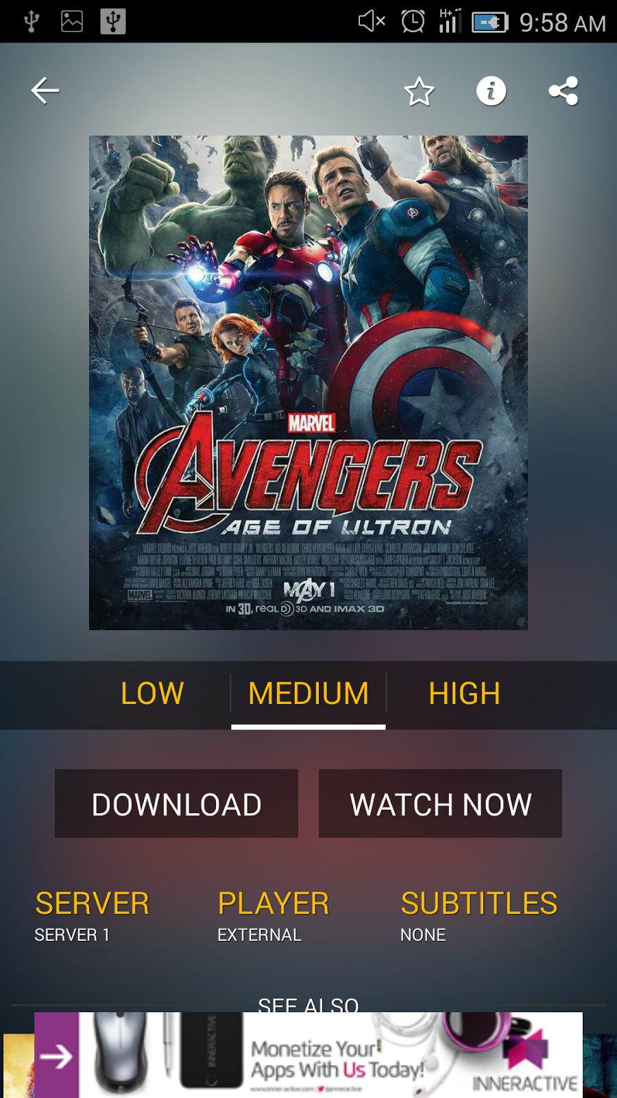 Phone Free Movie Sites For Android Phones stream download movies tvshows on android phonesshowbox show box has another important feature which allows user to watch and free without signing up or paying a single penny