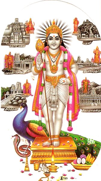 Lord muruga pictures photos gallery hindu devotional blog picture of lord muruga and arupadai veedu in background thecheapjerseys Image collections