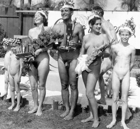 my grandparents surprised mom and dad when they joined a nudist club