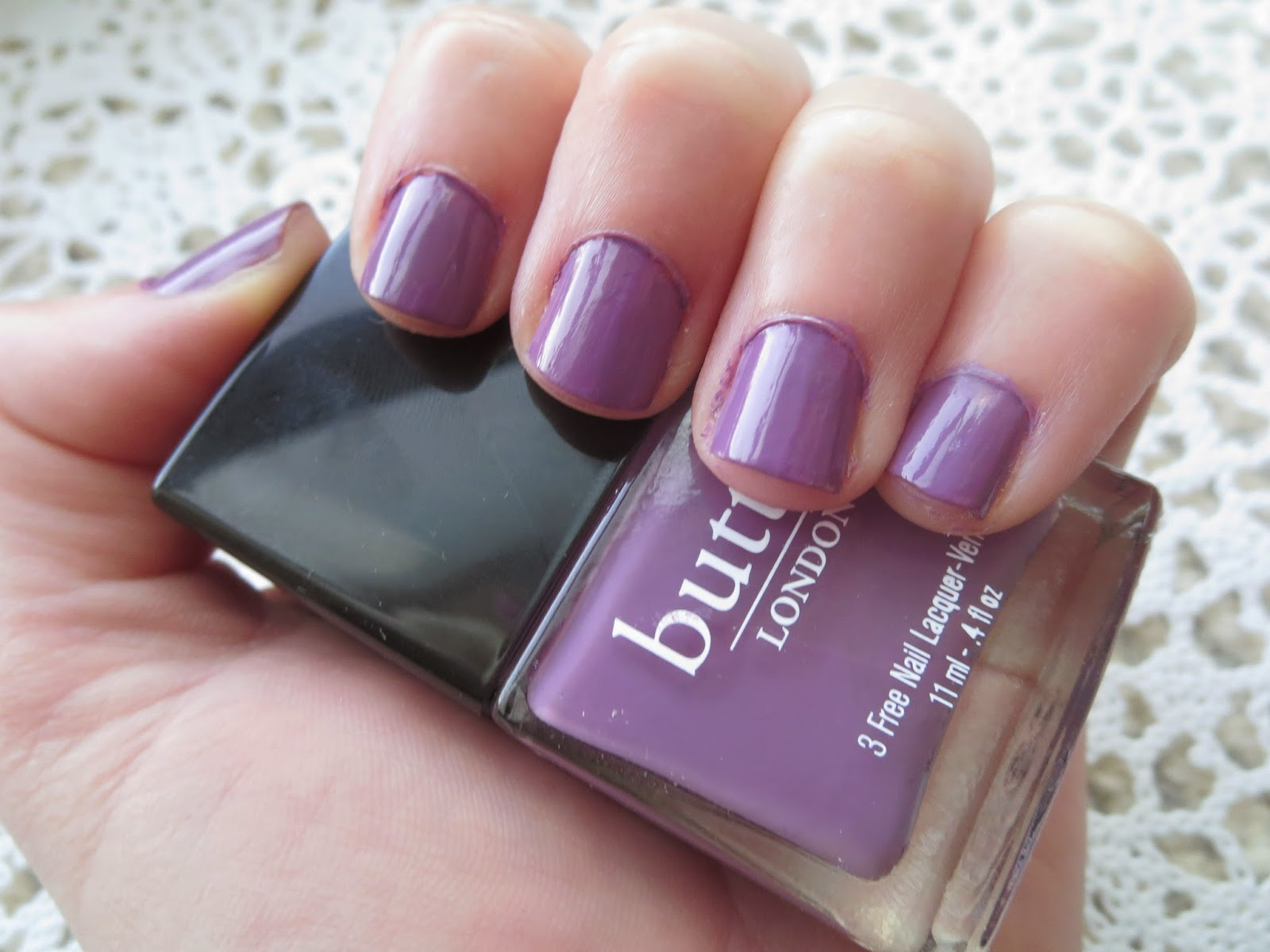 a picture of Butter London Scoundrel nail lacquer (swatch)