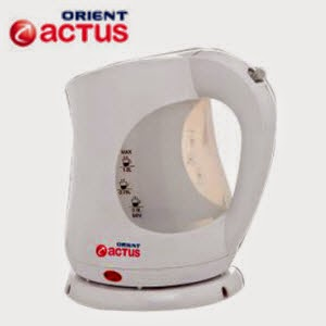 Shopclues: Buy Orient Actus KT1001P 1-Litre 2000-Watt Kettle and 16 ClueBucks at Rs. 768