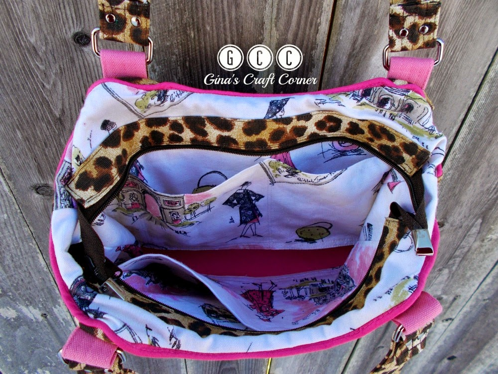Concealed Carry Sugar and Spice Bag by Gina's Craft Corner
