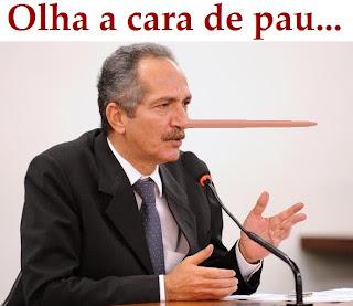 Aldo Rebelo: mentiroso e cara-de-pau