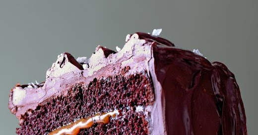 Salted-Caramel Six-Layer Chocolate Cake   Cook'n is Fun - Food Recipes ...