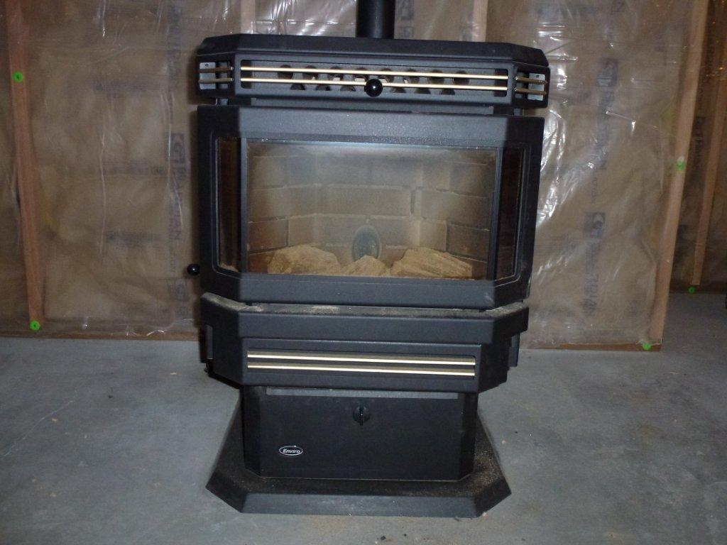 Stallings sheet metal enviro pellet stove - Pellet stoves for small spaces set ...