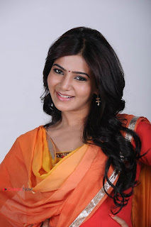 Samantha Latest Pictureshoot Gallery in Salwar Kameez 0004