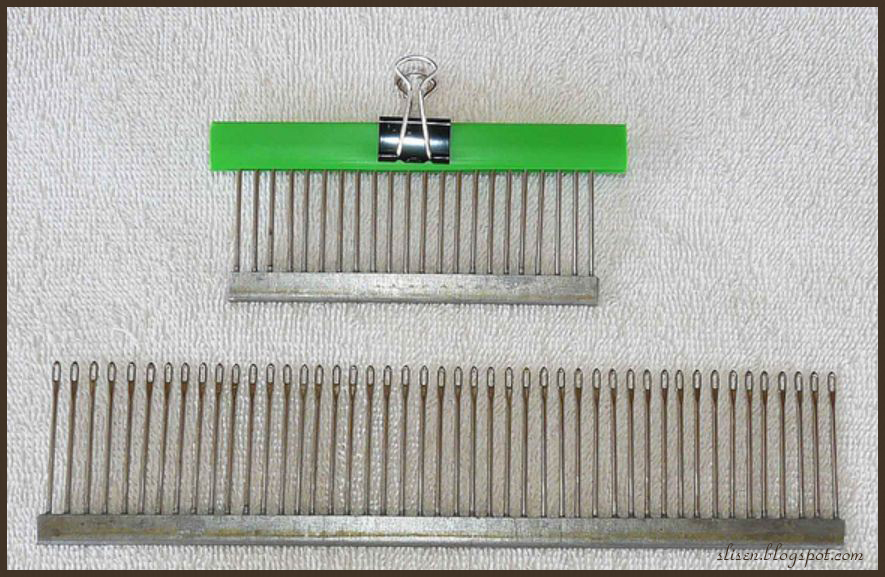 Knitting Machine Diy : Slisen s happy place diy decker comb