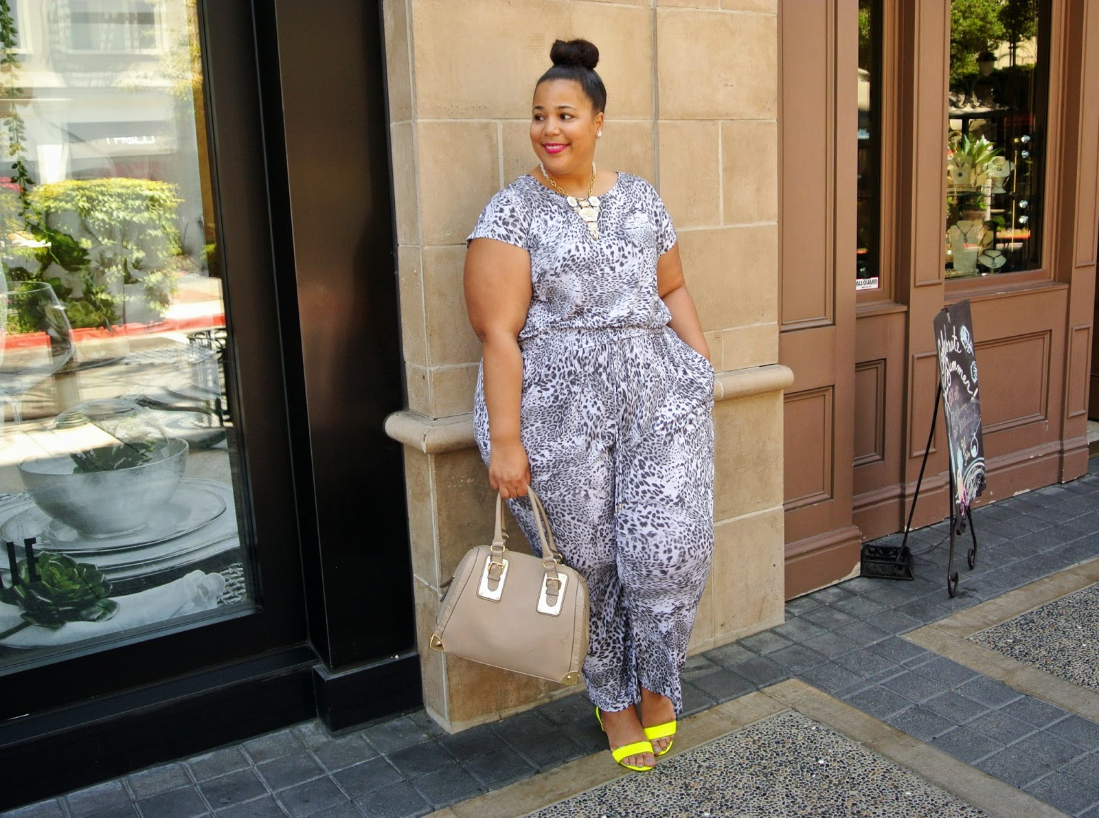 Plus Size Jumpsuit, Jennifer Lopez for Kohls, Plus size outfits
