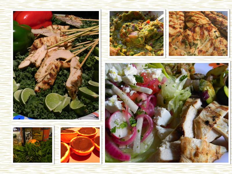 Margarita chicken mexican inspired dinner party part 3 forumfinder Gallery