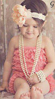 Style Baby Images With Pink Frock Pictures