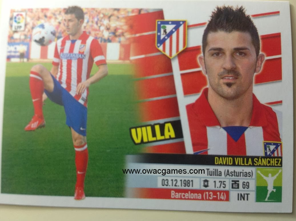 Liga ESTE 2013-14 Atl. de Madrid - Últimos Fichajes 23 - Villa