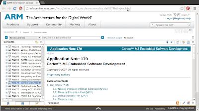 Application Note of Cortex-M3 Embedded Software Development