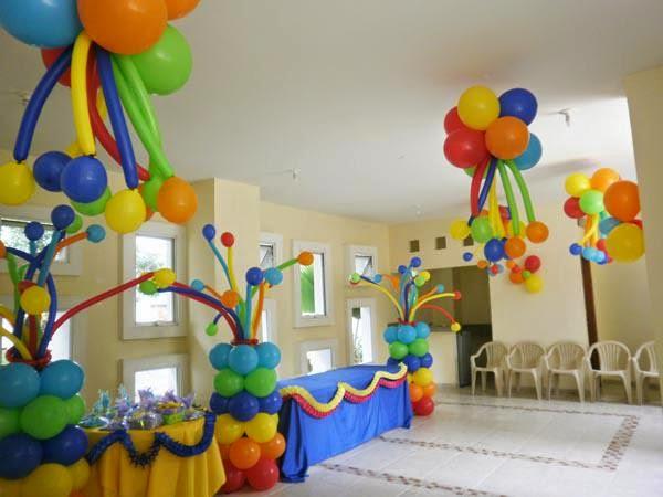 Globostilo decoraciones globos decoracion fiestas con globos - Adornos con globos para fiestas ...