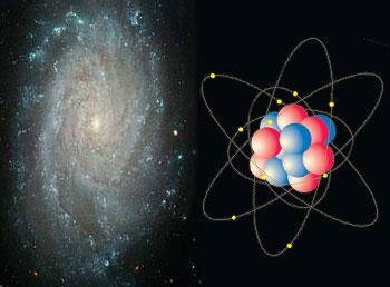 Resultado de imagen de La Galaxia y el átomo