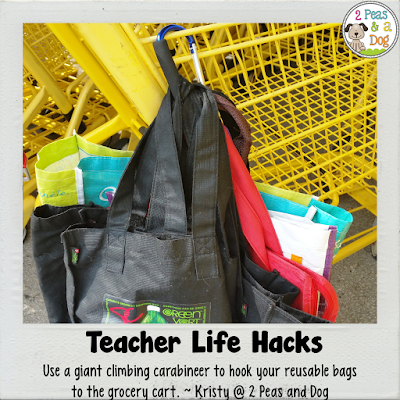 Teacher Life Hacks from 2 Peas and a Dog