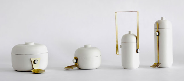 Natascha Madeiski porcelain and brass