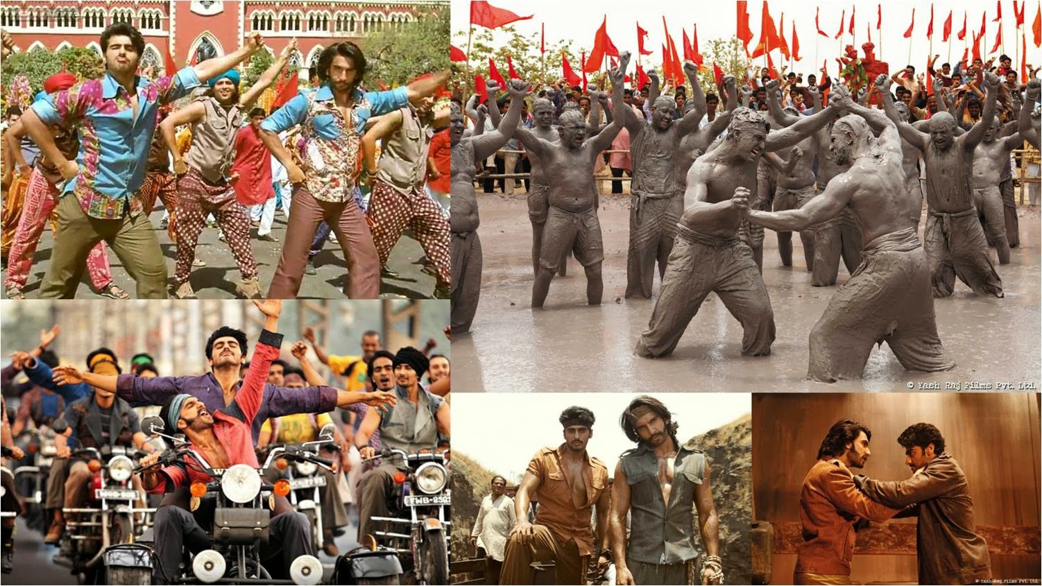 Gunday creates the era of 1980's, from sets to costumes