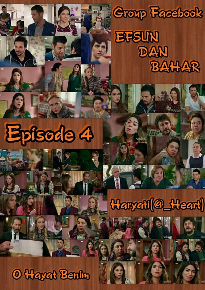 Sinopsis Efsun dan Bahar Episode 4 Senin 18 Januari 2015