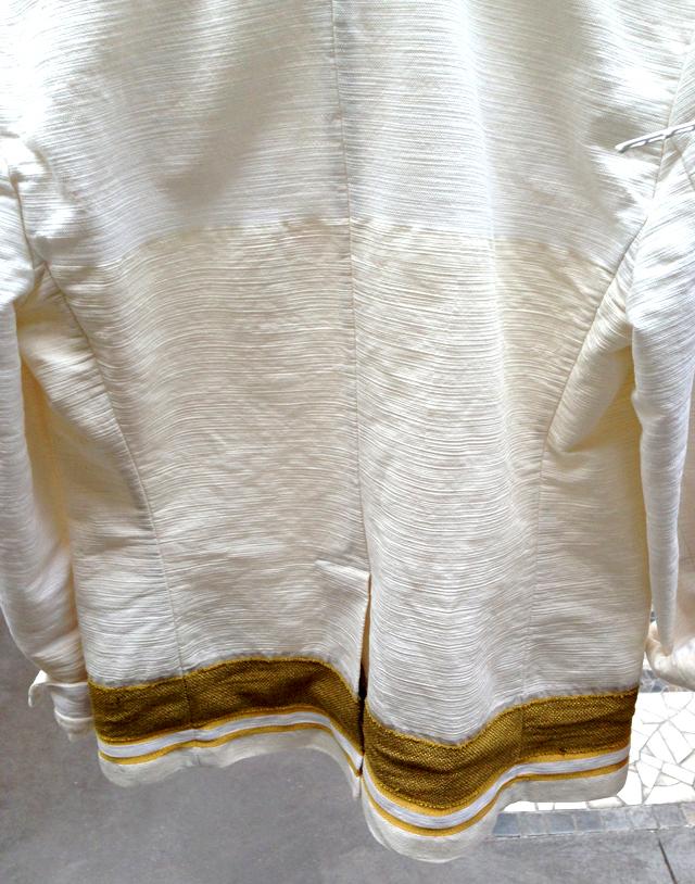 veste  blanche Forte-Forte