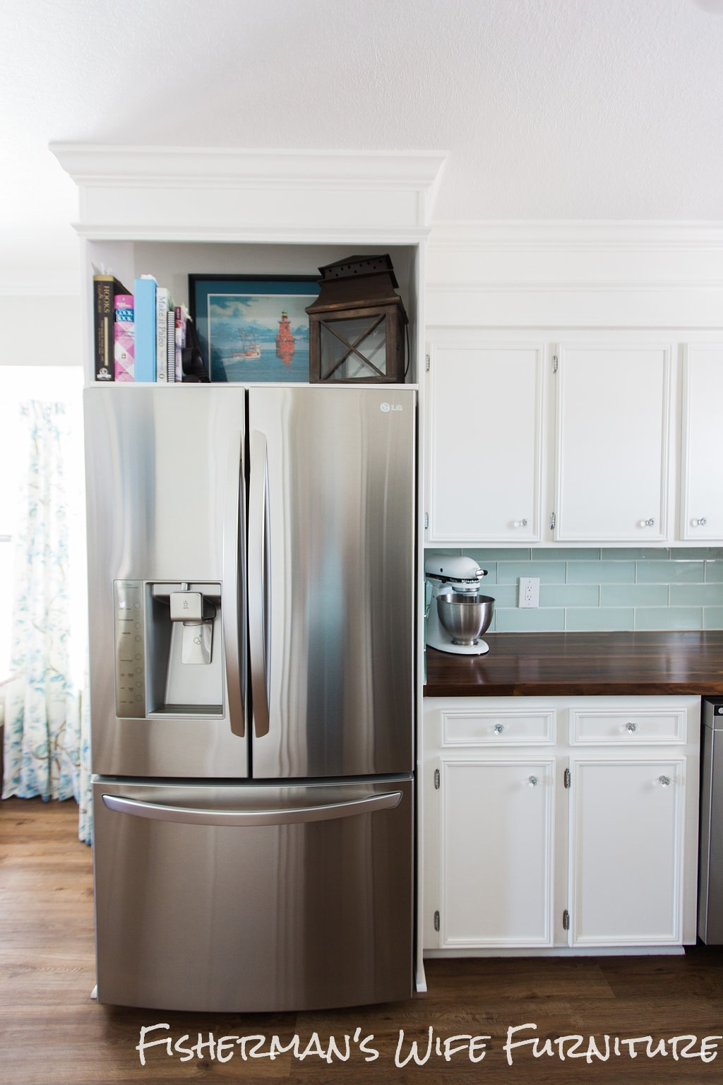 DIY Refrigerator Enclosure |