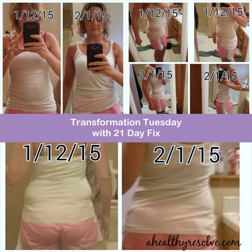 Check out Gina's Transformation with 21 Day Fix on ahealthyresolve.com