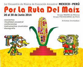 Concierto con Instrumentos Prehispánicos de México y Perú / Grupos MEZME Y PACHACAMAC