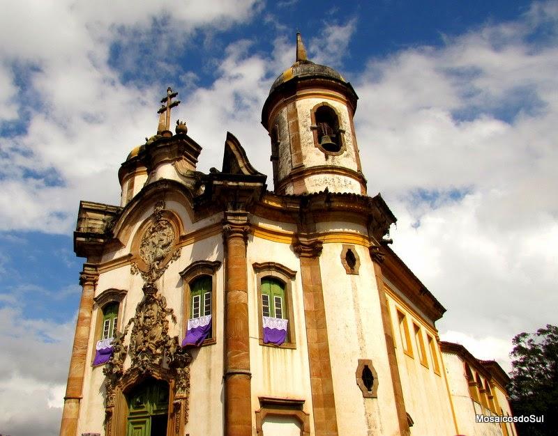 Foto da Igreja São Francisco de Assis em Ouro Preto