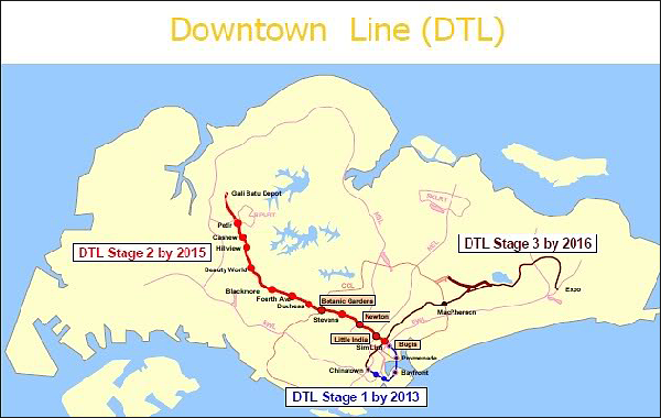 Downtown Line - Thomson Impressions Condo